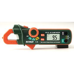 Extech Instruments 200A Mini AC Clamp Meter + NCV Detector