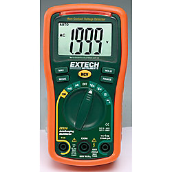Extech Instruments 8 Function Mini MultiMeter + Non-Contact Voltage Detector