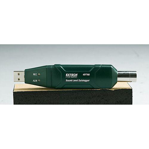 Extech Instruments Enregistreur de niveau sonore USB