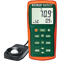Extech Instruments EasyView Light Meter with Memory