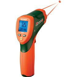 Extech Instruments Dual Laser IR Thermometer with Color Alert