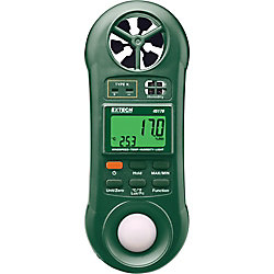 Extech Instruments Hygro-Thermo-Anemometer-Light Meter