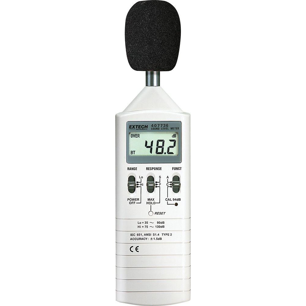 Extech Instruments Dual Range Sound Lever Meter