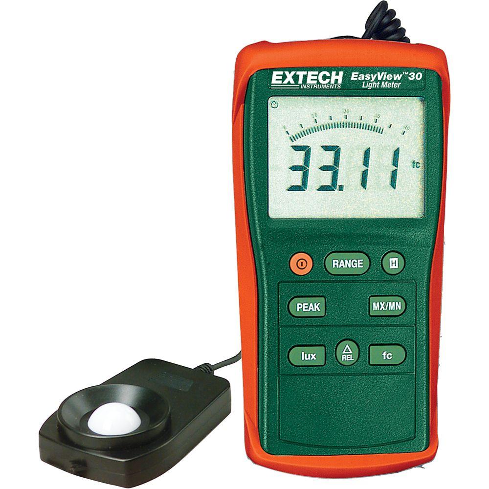 Extech Instruments EasyView Wide Range Light Meter