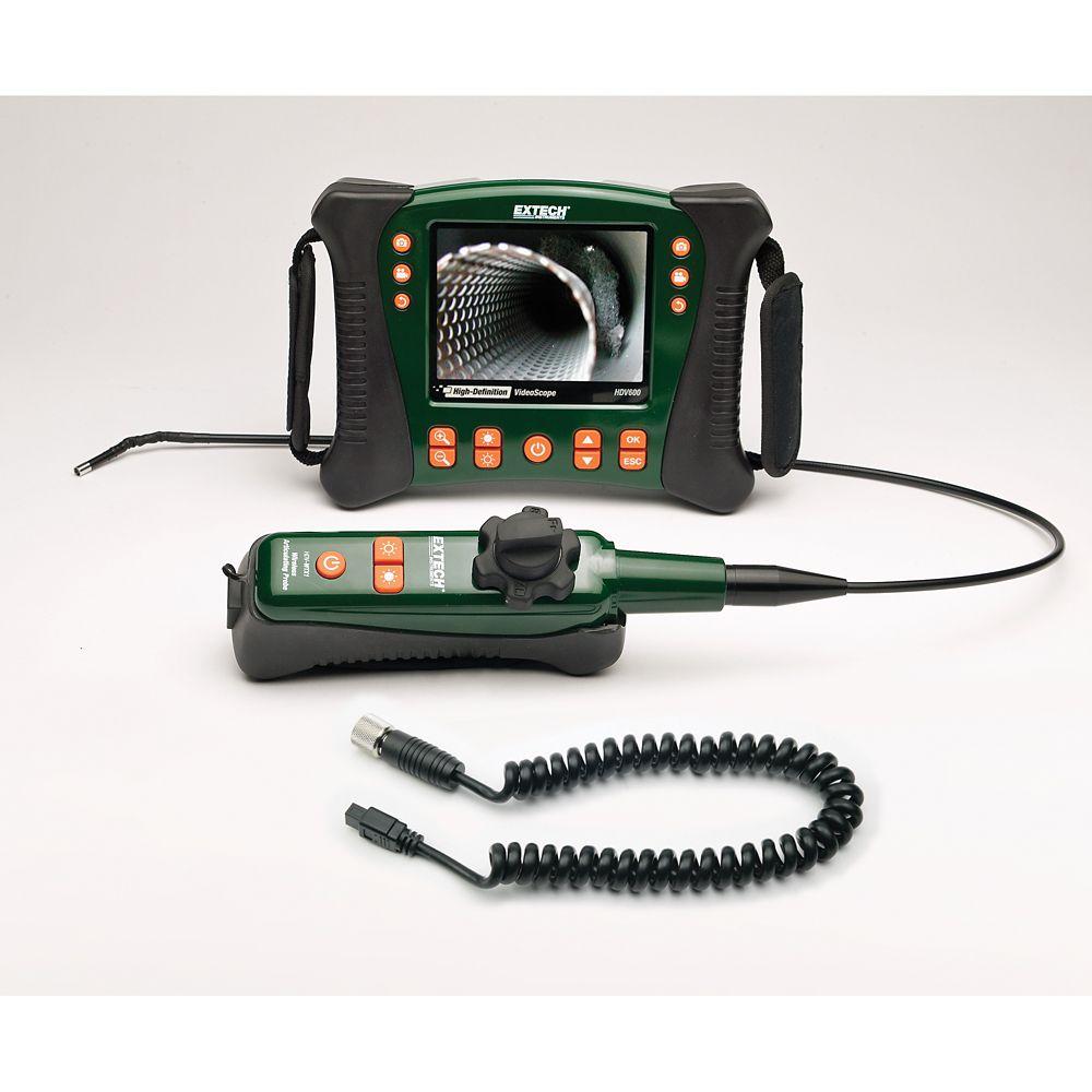 HD VideoScope Kit with Wireless Handset/Articulating Probe