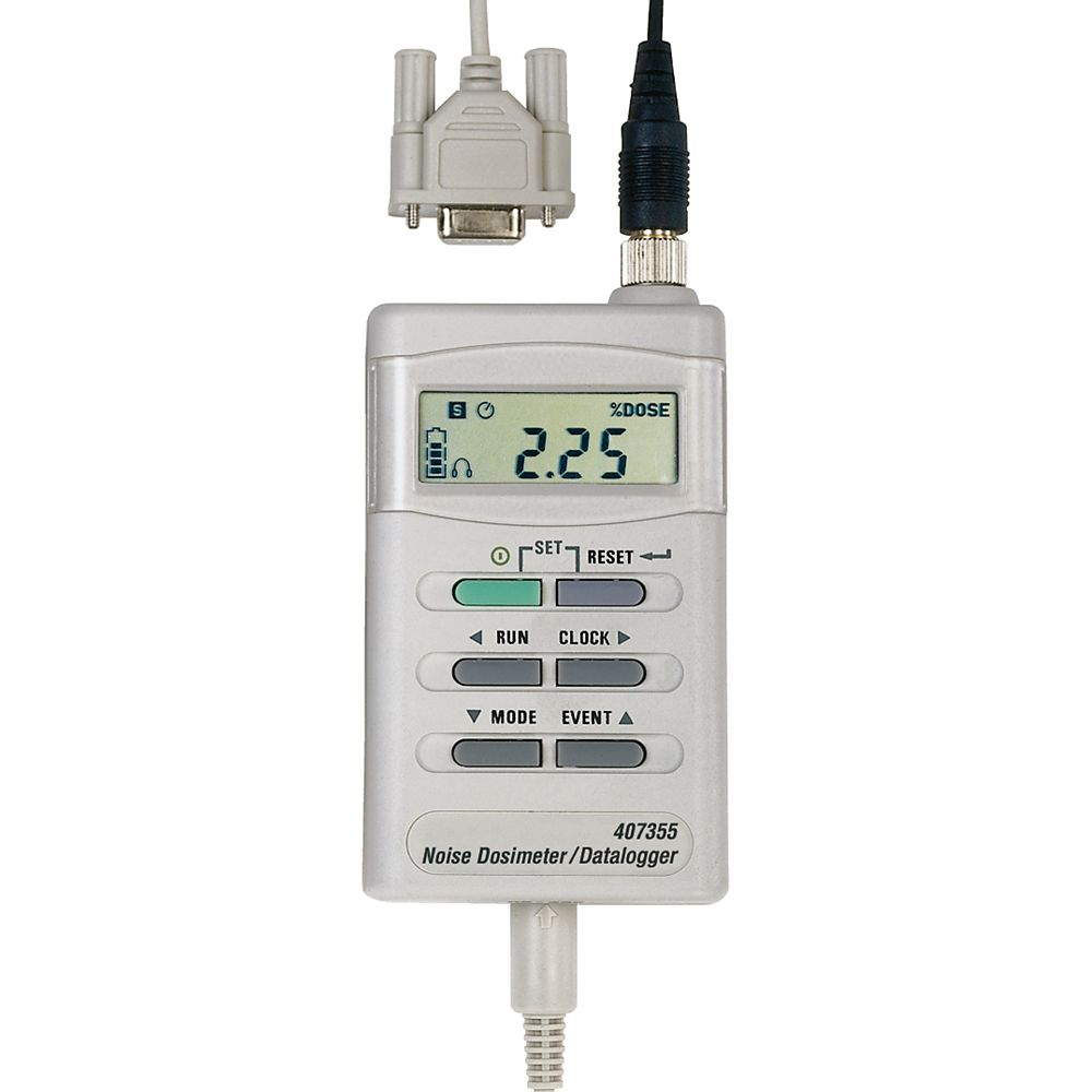Noise Dosimeter/Datalogger with PC Interface 407355 Canada Discount