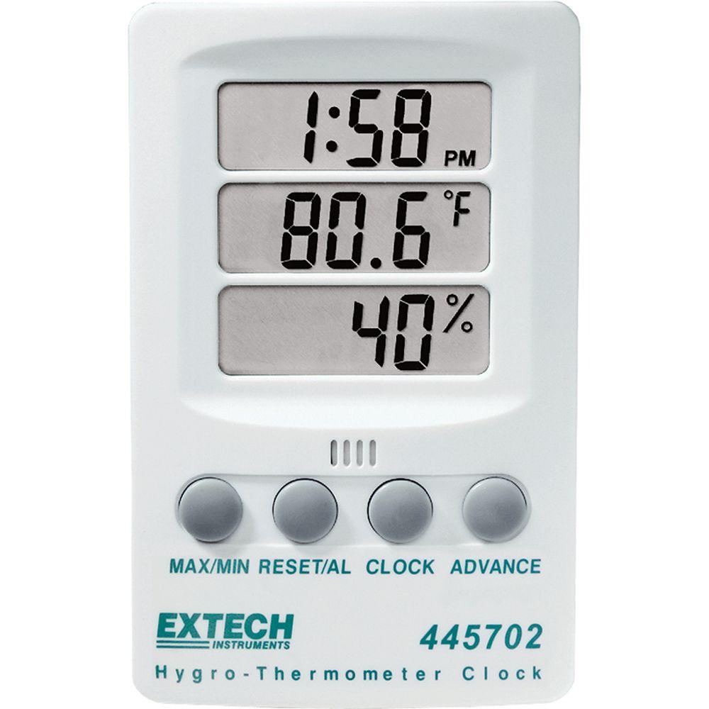 Horloge-thermohygromètre