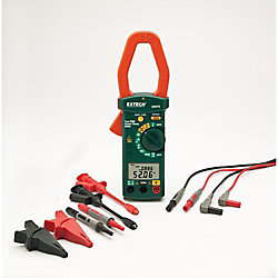 Extech Instruments Single Phase/Three Phase 1000A AC Power Clamp Meter Kit