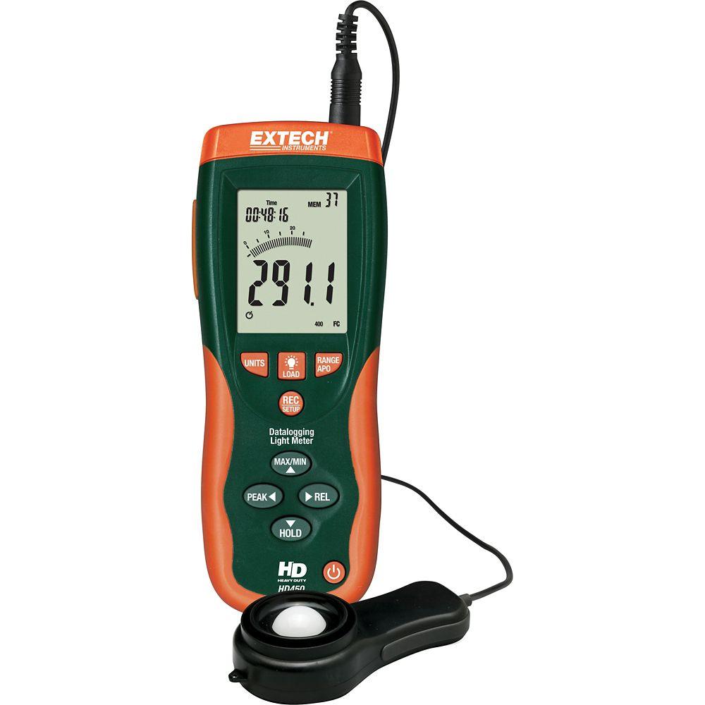 Extech Instruments Datalogging Heavy Duty Light Meter