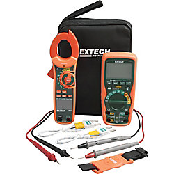 Extech Instruments Industrial DMM/Clamp Meter Test Kit