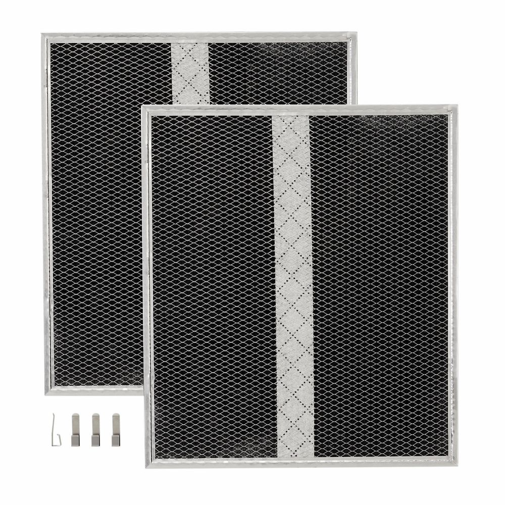 Two Charcoal Filters Compatible with 30-inch NuTone NCS3 Series Range Hood