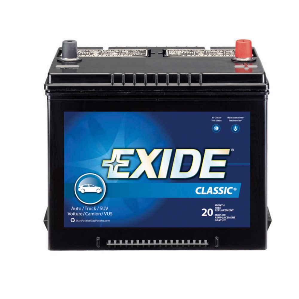 Exide Classic Automotive Battery - Group 24f
