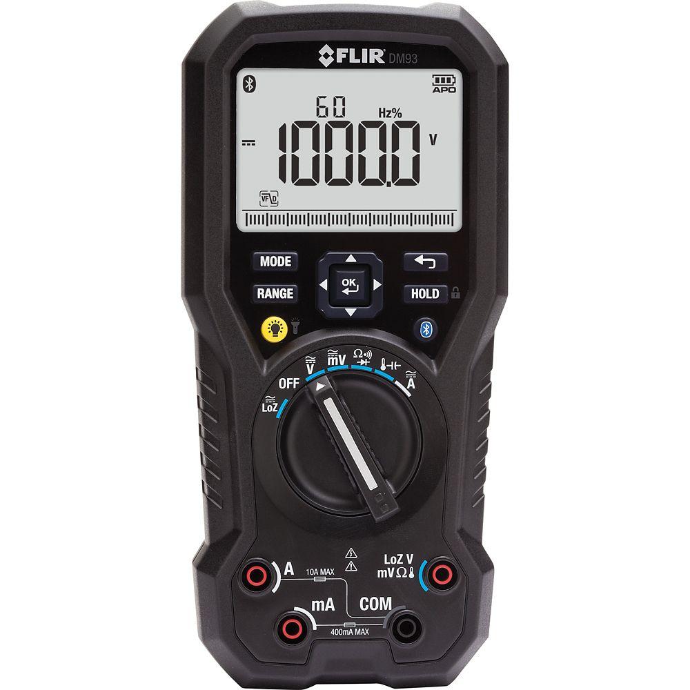 Multimètre numérique industriel doté du mode LoZ et VFD