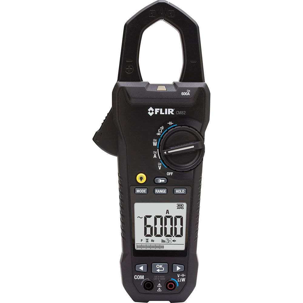 FLIR Systems 600A Power Clamp Meter with VFD Filter
