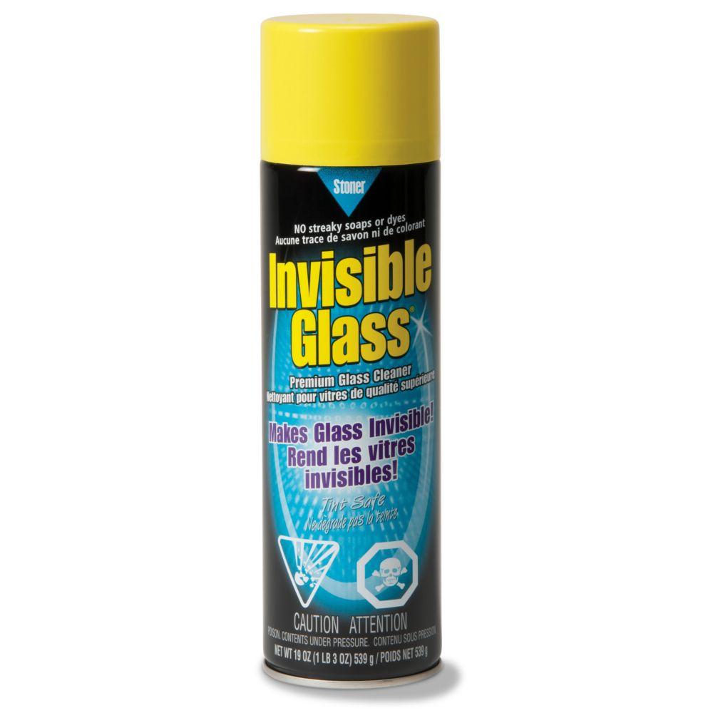 Premium Glass Cleaner - 19oz Aerosol Spray