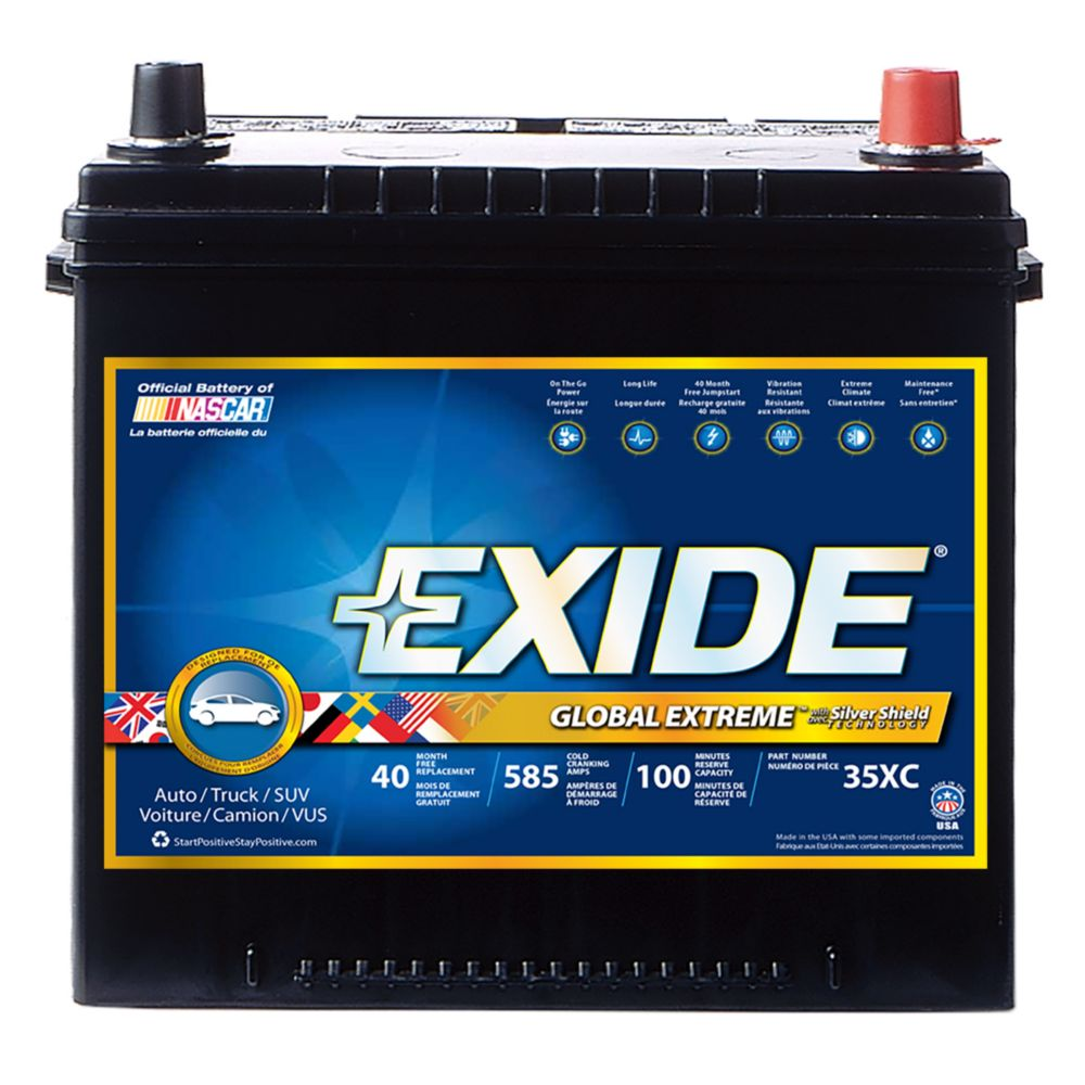 Exide Extreme Automotive Battery -Group 35