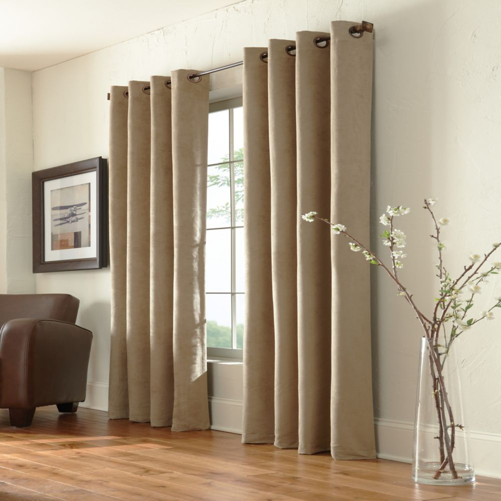 Grommet, Taupe, 54 x 95