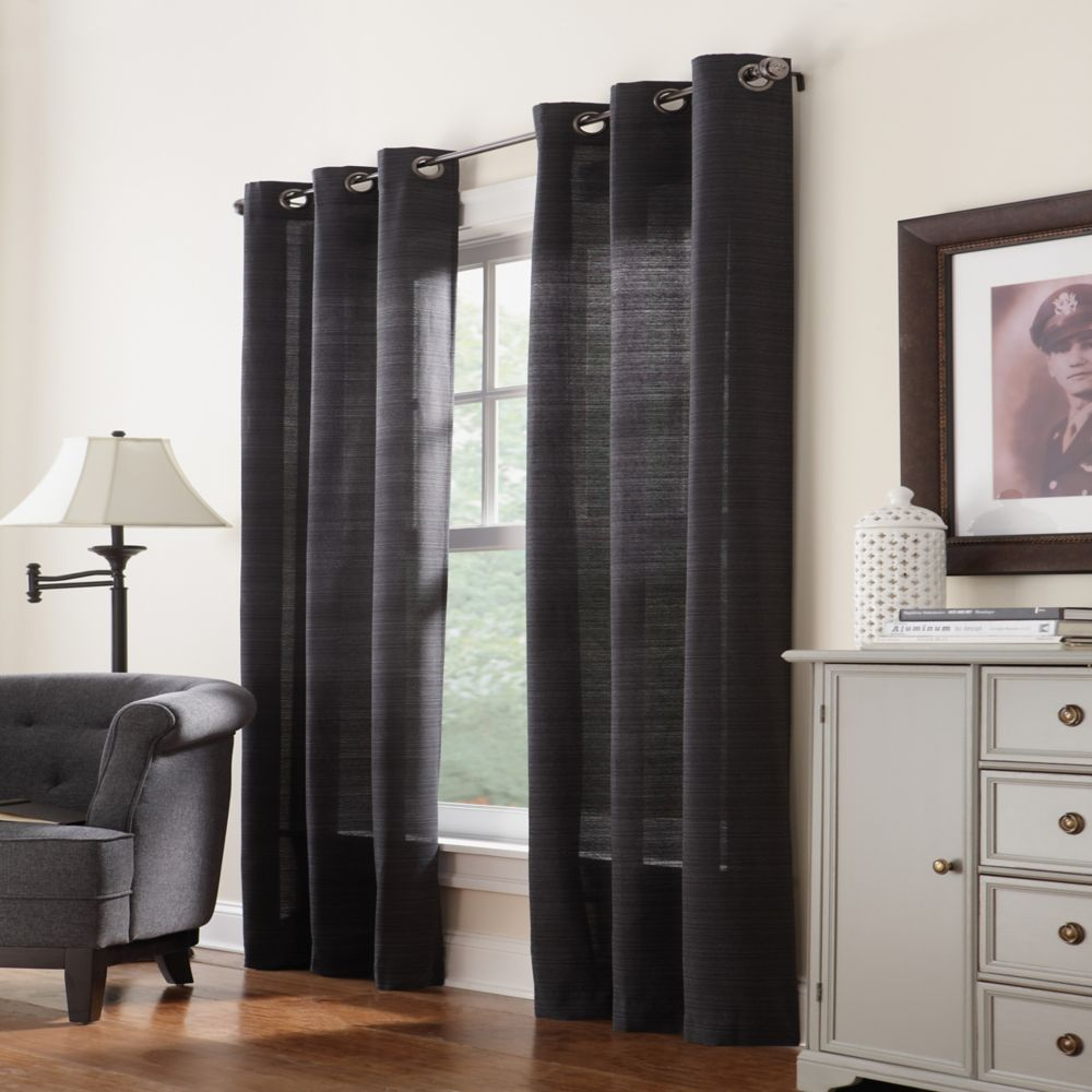 Grommet, Black, 42 x 95