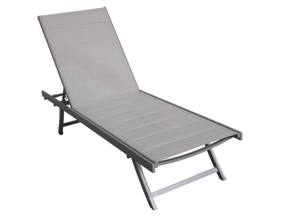 White Rock Padded Sling Lounger