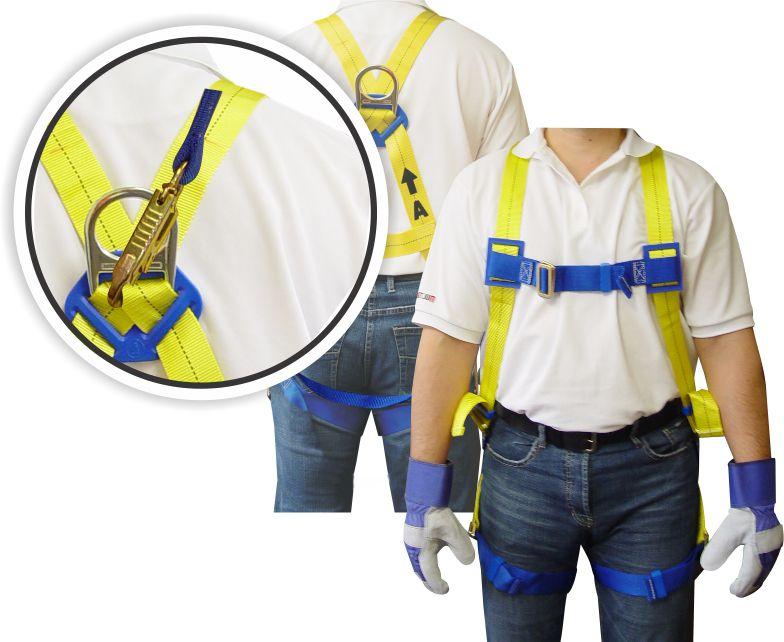 Full Body Harness - 6 Feet Lanyard