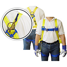 Full Body Harness - 6 Feet Lanyard