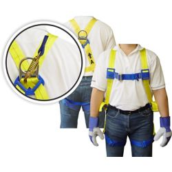 Workhorse Full Body Harness 6 Feet Lanyard The Home