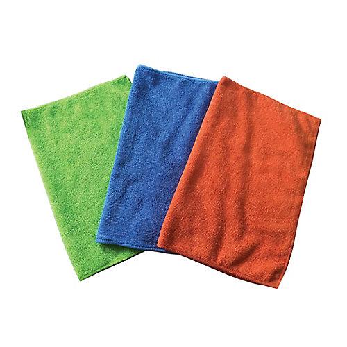 Multi-Colour Microfibre Cleaning Cloths (30-Pack)