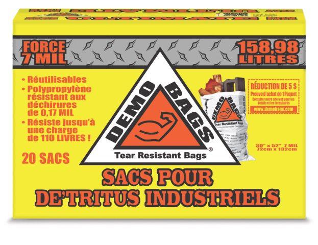 DEMOBAGS Reusable Demolition Bags