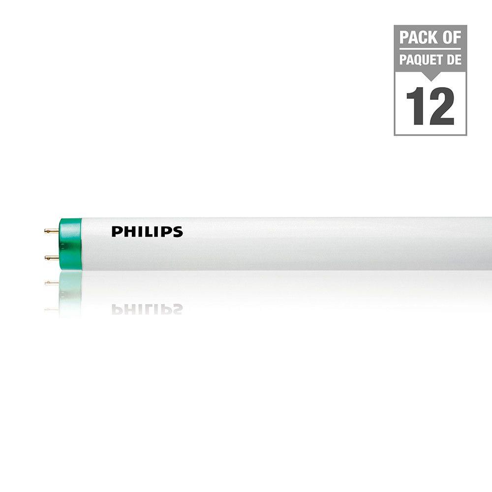 Fluorescent Linéaire T5 14 W 22 po Blanc doux - Cas de 12 Ampoules