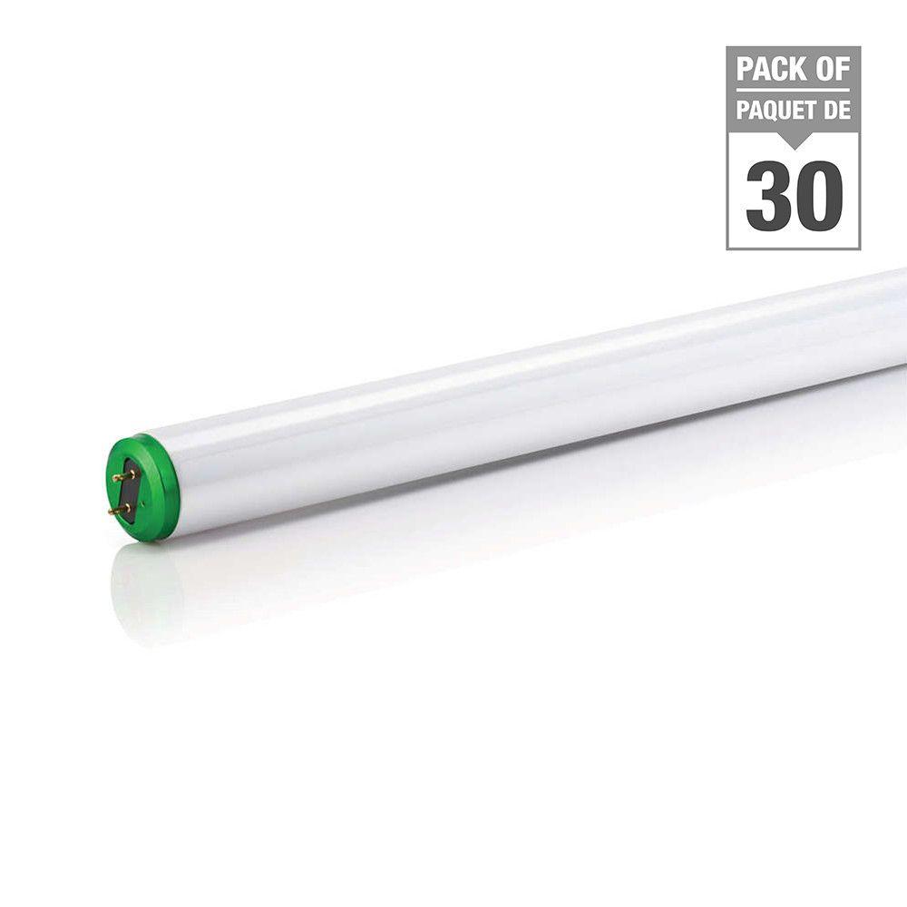 Fluorescent Linéaire T12 15 W  24 po Blanc froid - Cas de 30 Ampoules