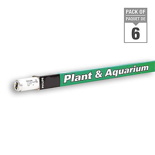 Fluorescent Linéaire  T12 20 W 24 po plante - Cas de 6 Ampoules