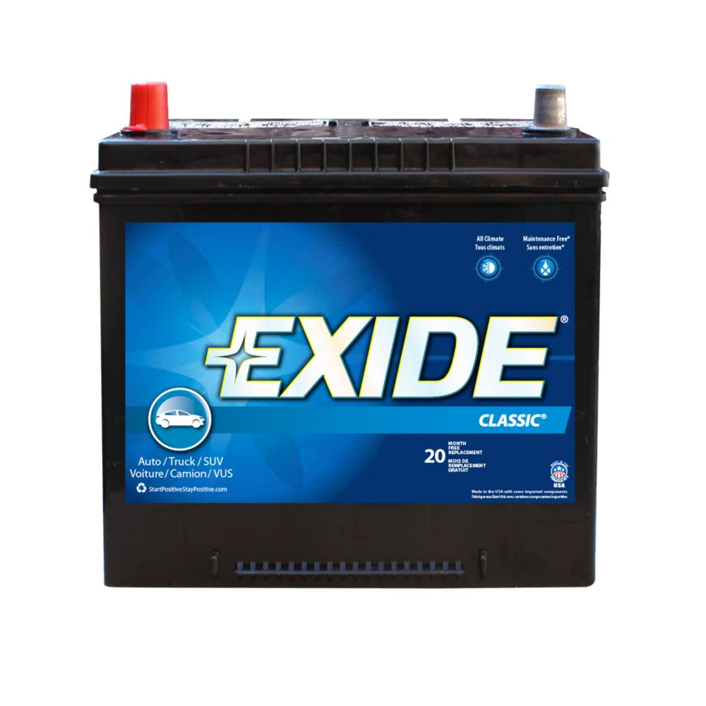 Exide Classic Automotive Battery - Group 34