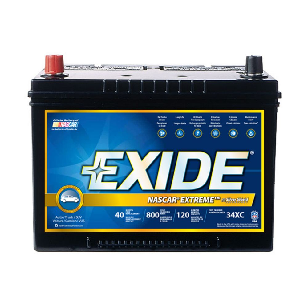 Exide Extreme Automotive Battery - Group 34