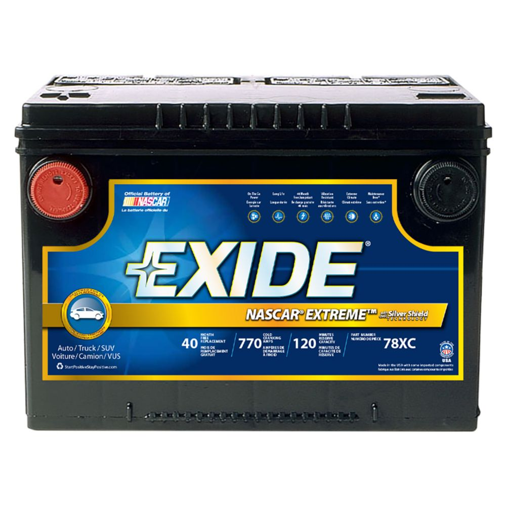 Exide Extreme Automotive Battery - Group 78