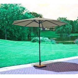 Hampton Bay 9 ft. EZ Tilt Market Umbrella