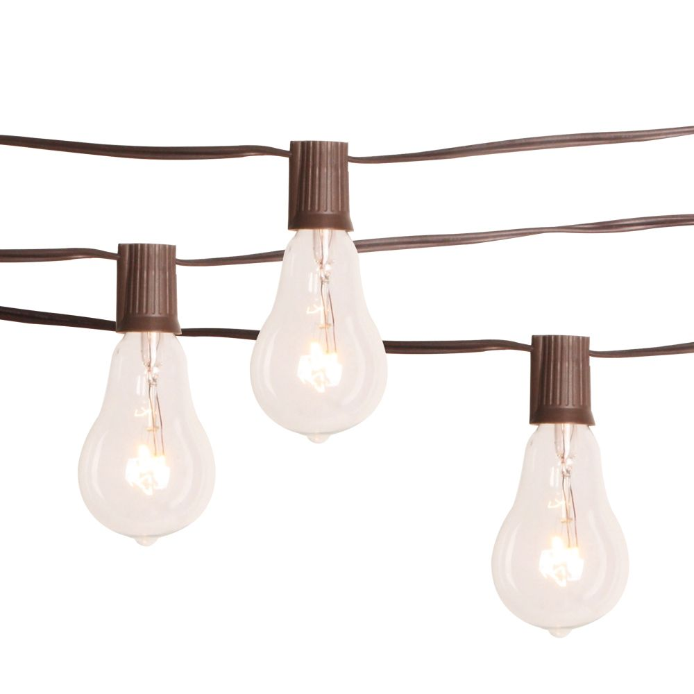 Patio String Lights Home Depot: The Home Depot Edison Bulb String Lights