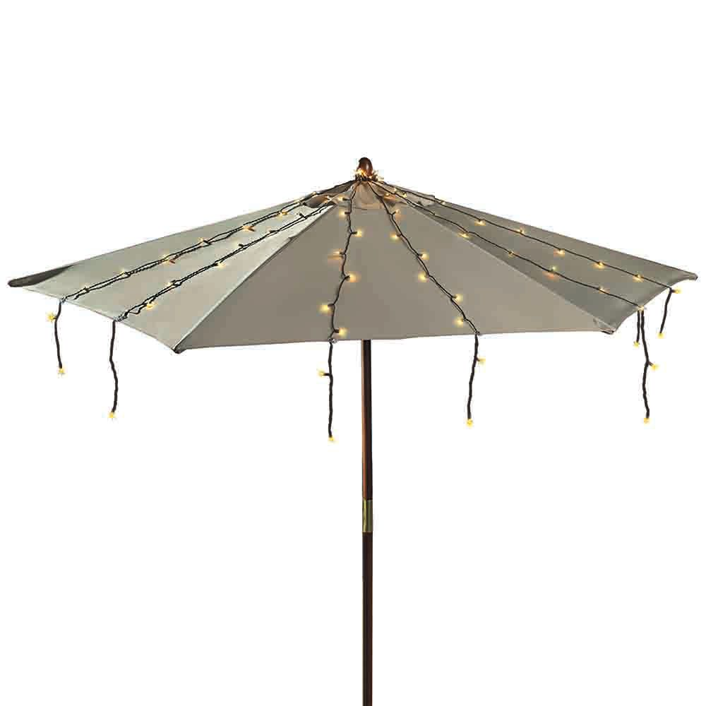 Patio String Lights Home Depot: The Home Depot Umbrella String Lights 150l