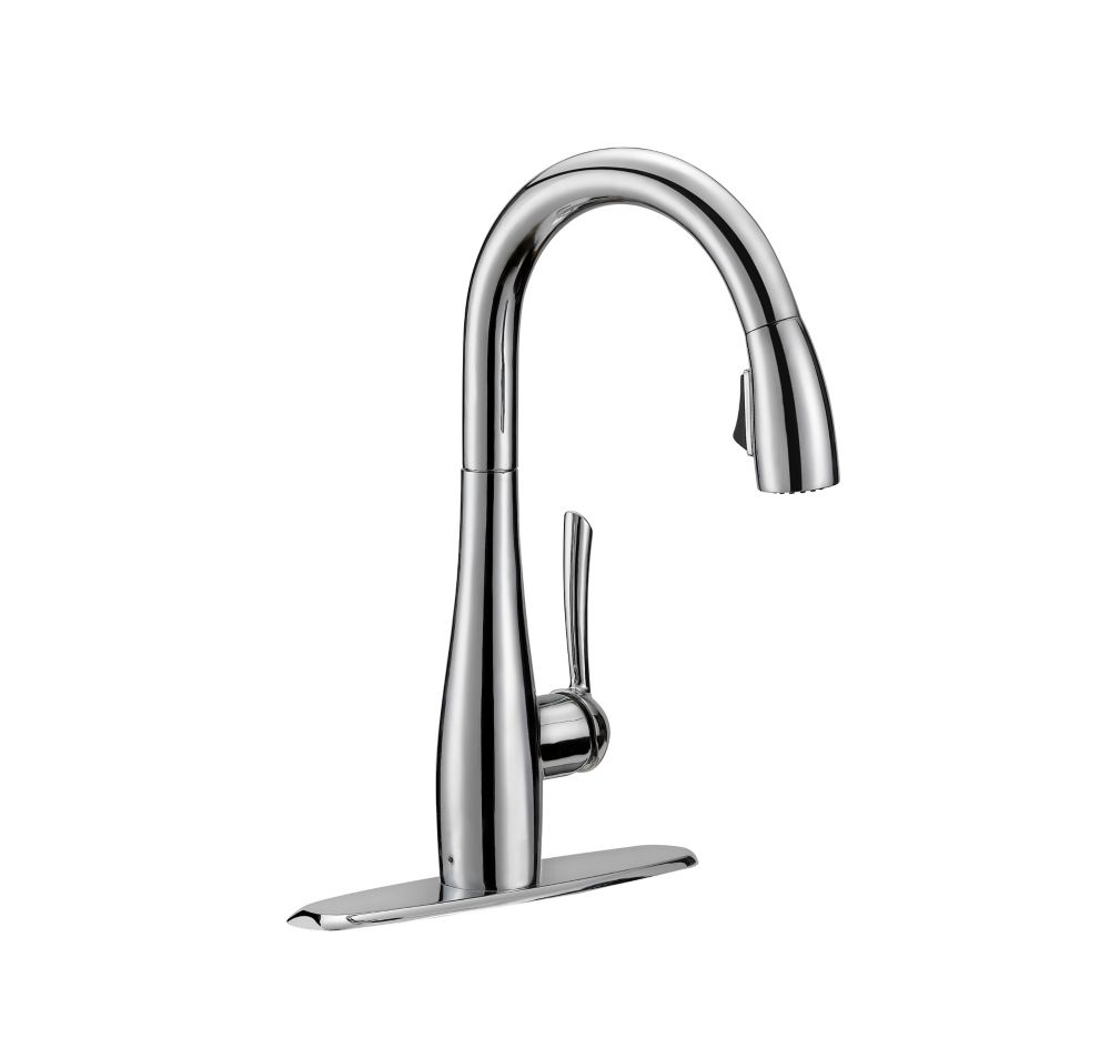 GLACIER BAY Analiese Single-Handle Pull-Down Kitchen Faucet in Chrome