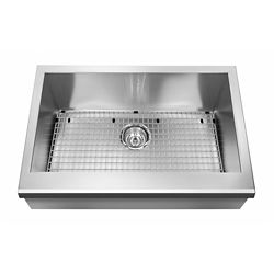 Kindred 20 Gauge SS hand fabricated kitchen farmhouse sink