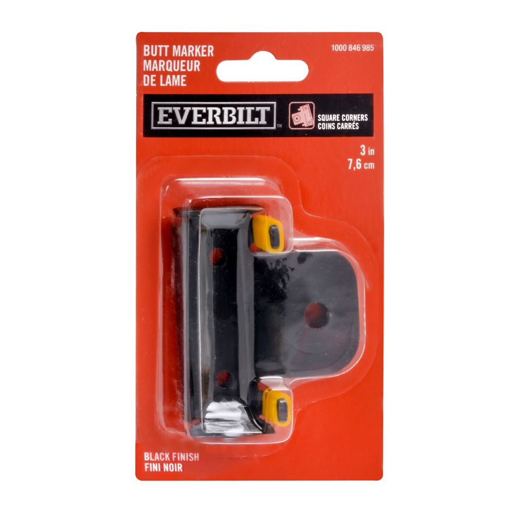 Everbilt 3-inch Butt Hinge Marker