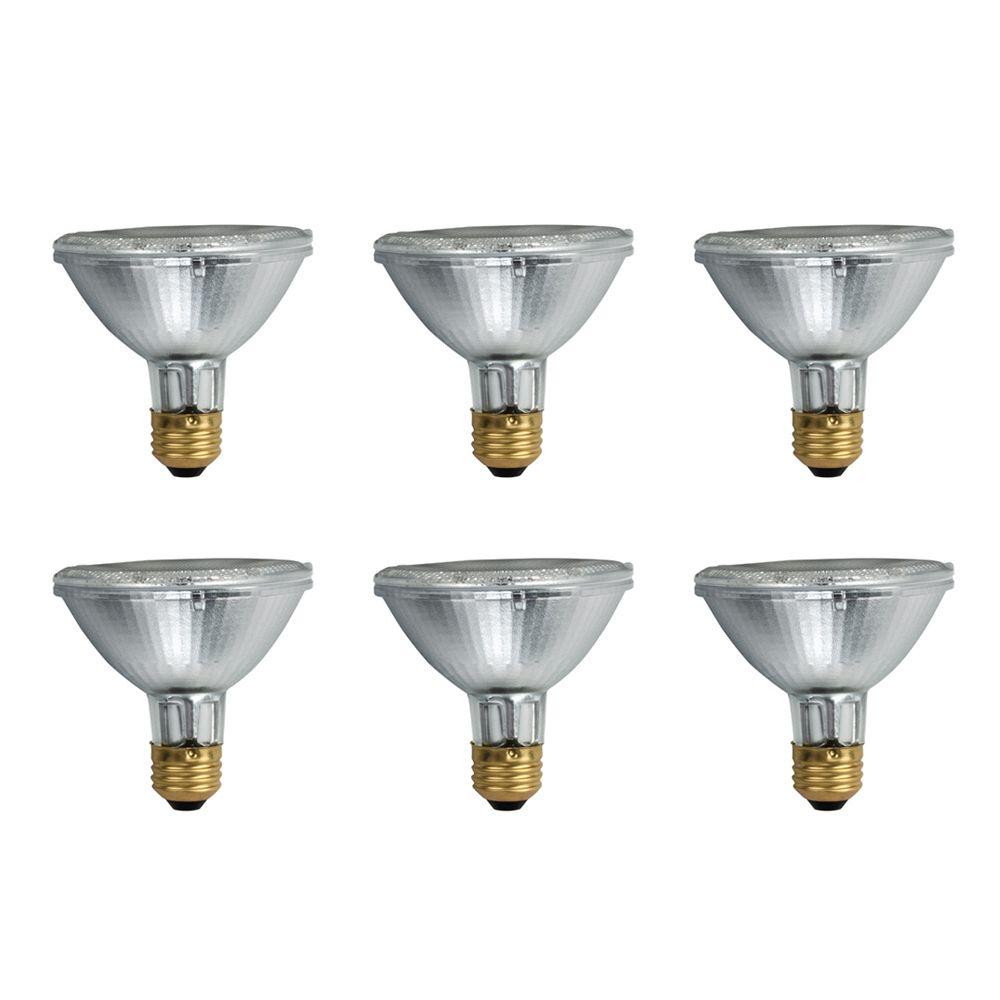 EcoVantage Ampoule éconergétique-Halogène Projecteur d'intérieur-PAR 30- 53W = 75W - Cas de 6 Amp...