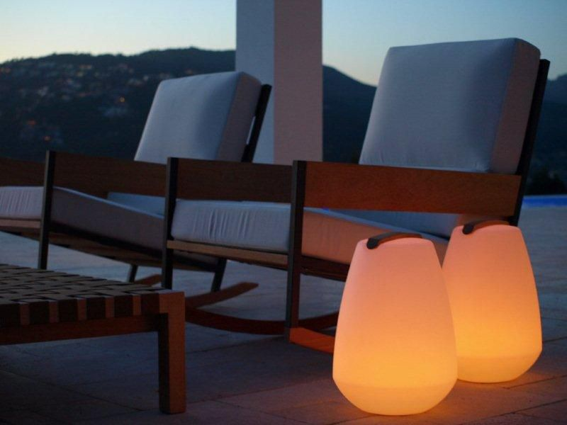 Vessel Outdoor Accent With Wireless LED Light