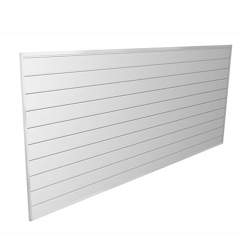 32 sq. ft. White Wall Panel Kit