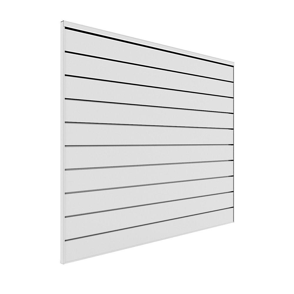 Wall Storage System - 16 sq. Feet. - White