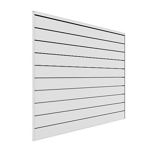 16 sq. ft. Garage Wall Storage System in White