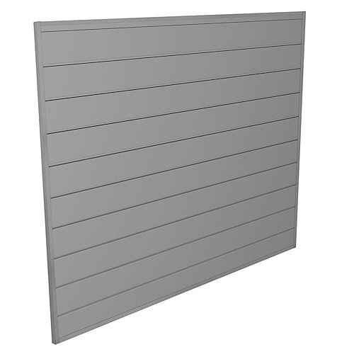 Wall Storage System - 16 Sq. Feet.- Light Gray