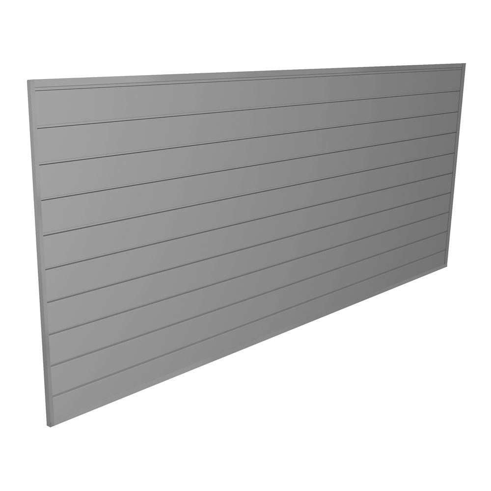 Proslat 32 sq. ft. Light Grey Wall Panel Kit