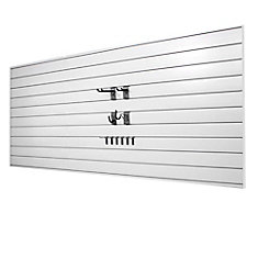 Slatwall Panels Amp Track Systems The Home Depot Canada