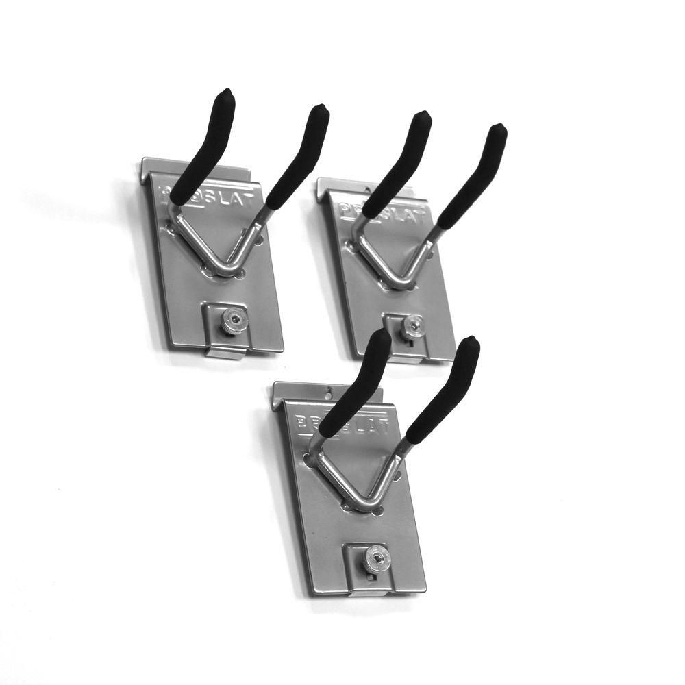 Wall Storage Solutions, 4-in double hook - 3 Pack