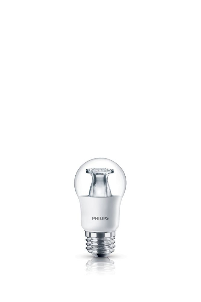 Philips LED 40W A15 Medium Base Clear Soft White WarmGlow (2700K - 2200K) - ENERGY STAR®